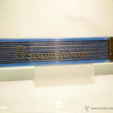 Escribanía: STAEDTLER, ANTIGUA CAJA PORTAMINAS MARS LUMOGRAPH Nº 1904 CON 12 MINAS GRAFITO 2MM. 2H. GERMANY 60'S. Lote 47519420