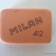 Escribanía: GOMA MILAN ( 5 X 3,5 CM ) 412 , SIN USO . Lote 48739854
