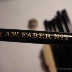 Escribanía: EXCELENTE LAPIZ DE GRAFITO DE LA MARCA ALEMANIA A.W.FABER Nº 2 -PERFECTO SIN USAR AÑOS 1920-40. Lote 48894504