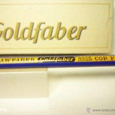 Escribanía: A.W. FABER, MUY ANTIGUA CAJA CON 12 LAPICES GRAFITO COPIATIVO MOD. GOLDFABER 4000 F=3. Lote 52425761