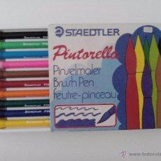 Escribanía: ROTULADORES STAEDTLER PINTORELLA, 10 ROTULADORES. Lote 50698732