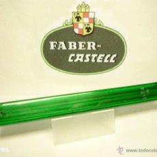 Escribanía: A.W. FABER CASTELL, ANTIGUO TUBO PORTAMINAS CON 6 MINAS PIZARRA 2 MM. REF. Nº 7/211. GERMANY 1950'S. Lote 92714635