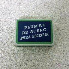 Escribanía: 100 PLUMAS DE ACERO PARA ESCRIBIR. CLASE CORRIENTE.. Lote 93532879