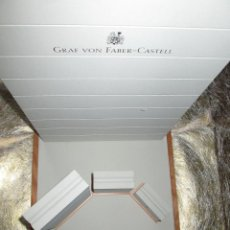 Escribanía: EXPOSITOR CON 3 SOPORTES ESCRITURA-GERMANY-GRAF VON FABER CASTELL-BUEN ESTADO-VER FOTOS. Lote 52448416