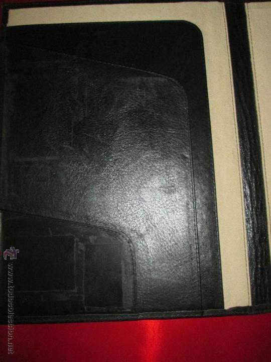 Escribanía: AªCARPETA CON APARTADOS,BLOCK,APUNTES,BOLÍGRAFO-PARKER-31x24 CMS-BUEN ESTADO-TAMAÑO FOLIO - Foto 2 - 53238864