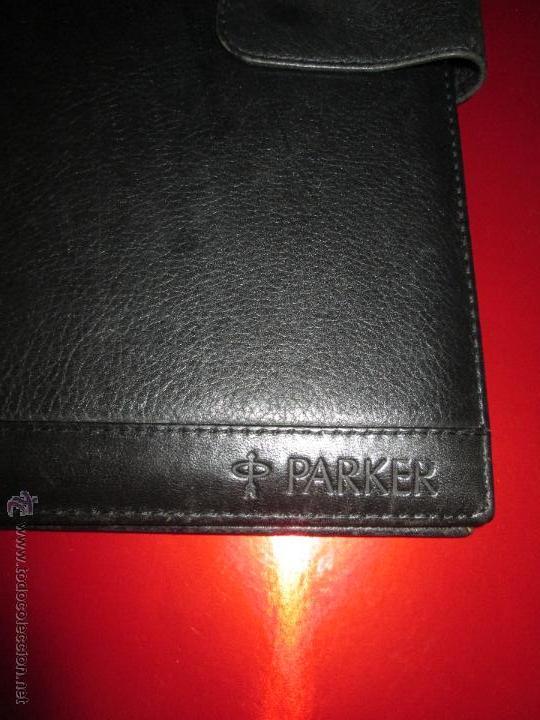 Escribanía: AªCARPETA CON APARTADOS,BLOCK,APUNTES,BOLÍGRAFO-PARKER-31x24 CMS-BUEN ESTADO-TAMAÑO FOLIO - Foto 5 - 53238864