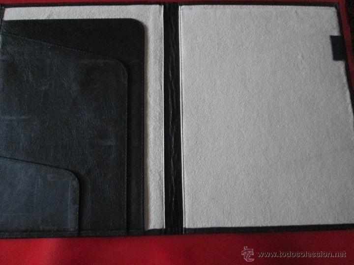 Escribanía: AªCARPETA CON APARTADOS,BLOCK,APUNTES,BOLÍGRAFO-PARKER-31x24 CMS-BUEN ESTADO-TAMAÑO FOLIO - Foto 8 - 53238864