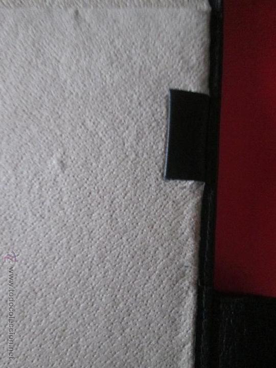 Escribanía: AªCARPETA CON APARTADOS,BLOCK,APUNTES,BOLÍGRAFO-PARKER-31x24 CMS-BUEN ESTADO-TAMAÑO FOLIO - Foto 9 - 53238864