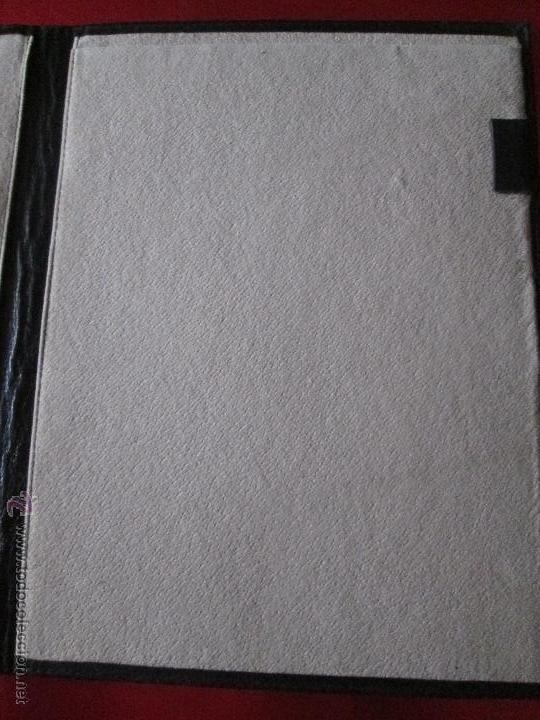 Escribanía: AªCARPETA CON APARTADOS,BLOCK,APUNTES,BOLÍGRAFO-PARKER-31x24 CMS-BUEN ESTADO-TAMAÑO FOLIO - Foto 10 - 53238864