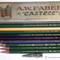 Escribanía: ANTIGUA CAJA FABER CASTELL. Lote 53466980