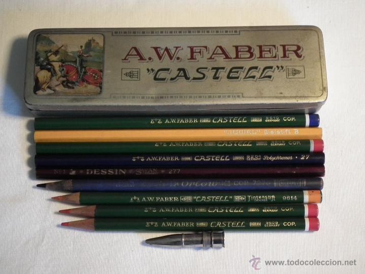 Escribanía: Antigua caja Faber Castell - Foto 2 - 53466980