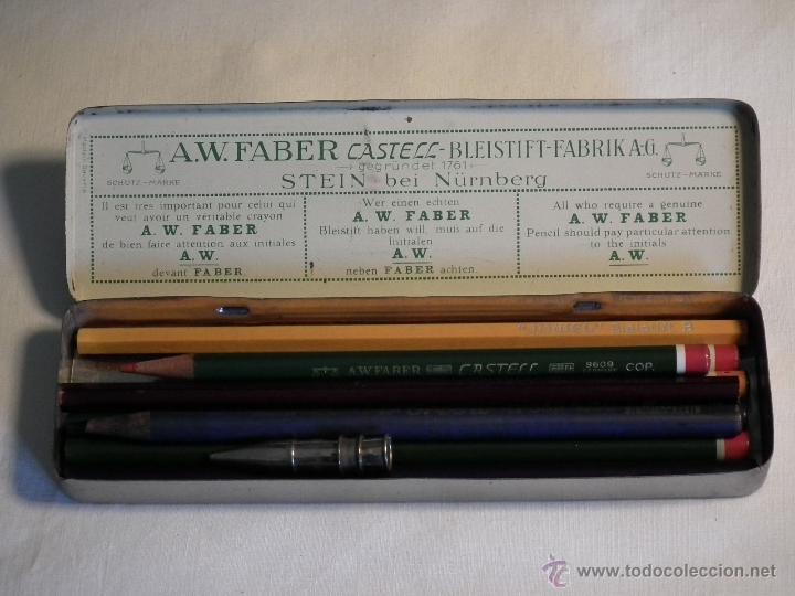 Escribanía: Antigua caja Faber Castell - Foto 3 - 53466980