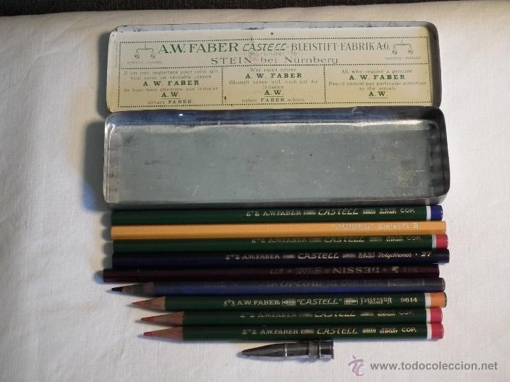 Escribanía: Antigua caja Faber Castell - Foto 4 - 53466980
