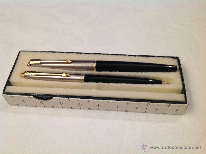 PLUMA Y BOLIGRAFO PARKER (Plumas Estilográficas, Bolígrafos y Plumillas - Plumillas y Otros Elementos de Escribanía)