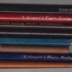 Escribanía: LOTE 7 ANTIGUOS LÁPICES + PLUMÍN,AÑOS 60,LAPIZ,BAIGNOL FARJON,STYLE MODERNE,668,656,4,STAEDTLER. Lote 55914865