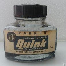 Escribanía: TINTERO ANTIGUO PARKER QUINK. Lote 56915025