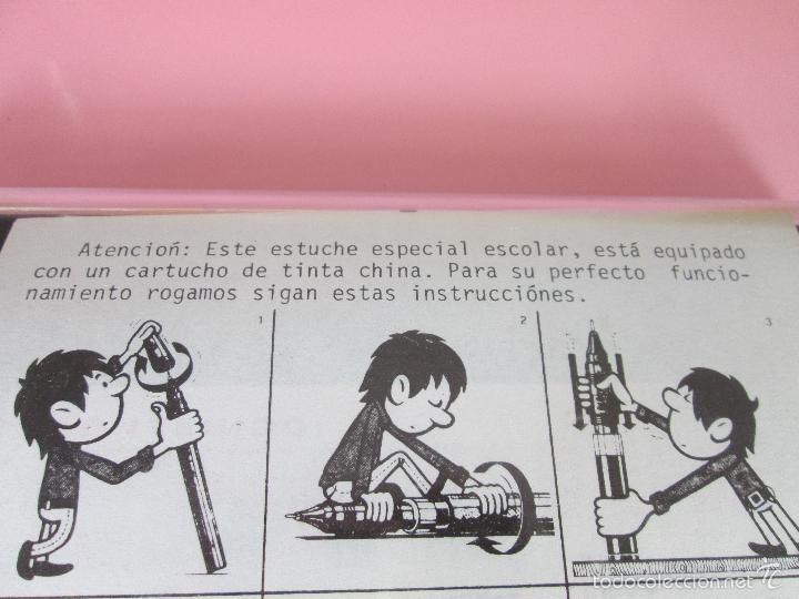 Escribanía: ANTIGUO ESTUCHE ESTILÓGRAFOS+PORTAMIN-GERMANY- ROTRING-NEGROS(DE LOS BUENOS)-NOS-PERFECTO-VER FOTOS. - Foto 14 - 183888630