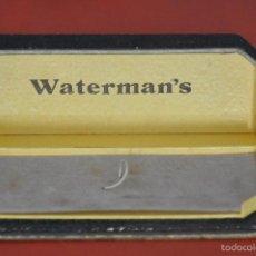 Escribanía: ANTIGUO ESTUCHE DE PLUMAS WATERMAN . Lote 57660268