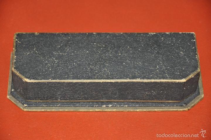 Escribanía: ANTIGUO ESTUCHE DE PLUMAS WATERMAN - Foto 3 - 57660268