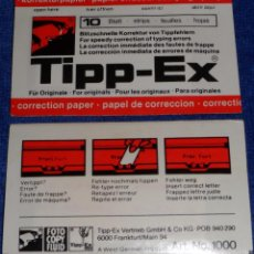 Escribanía: TIPP-EX - TIPEX- TIPPEX. Lote 137635476