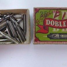 Escribanía: 70 PLUMILLAS DOBLE B Nº 730. Lote 58601529