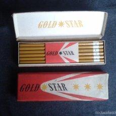 Escribanía: LÁPIZ GOLD STAR B DIBUJO KOH I NOOR AÑOS '50 CHECO CAJA X 12 CZECHOSLOVAKIA. Lote 58755732