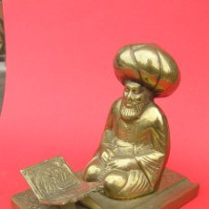 Outils d'Écriture: PISAPAPELES - PORTAPLUMAS . BRONCE. ANTIGUO SOUVENIR DE TURQUÍA.. Lote 60864043