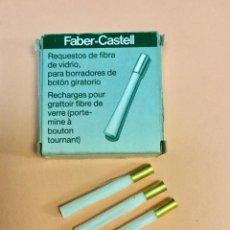 Escribanía: ESCOBILLAS DE FIBRA DE VIDRIO. FABER CASTELL.. Lote 63348168