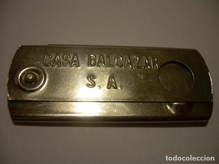 Escribanía: ANTIGUO SACAPUNTAS - AFILALAPICES.....CASA BALCAZAR, S.A....PIELES BARCELONA. - Foto 4 - 69283125