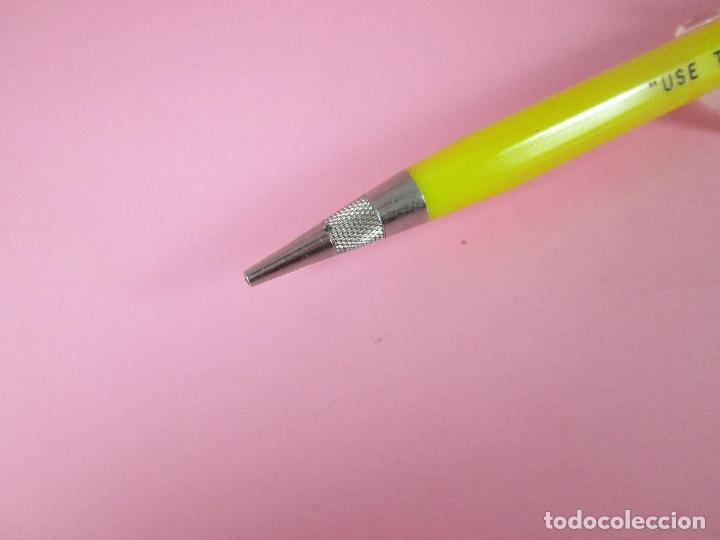 Escribanía: NN7430-antiguo portaminas-usa-durolite-publicidad:use the yellow pages-nuevo-ver fotos. - Foto 8 - 72266639