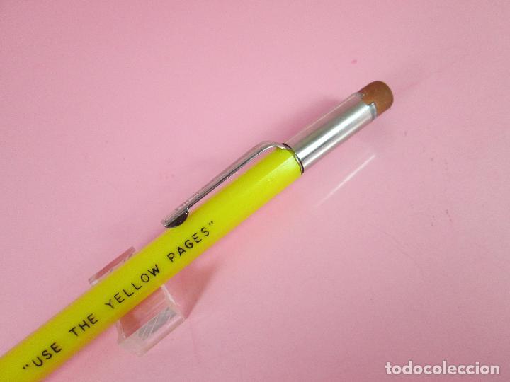 Escribanía: NN7430-antiguo portaminas-usa-durolite-publicidad:use the yellow pages-nuevo-ver fotos. - Foto 9 - 72266639