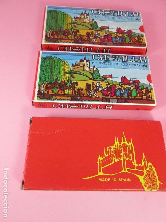 Escribanía: lote 3 cajas-lápices/pinturas-castilla-nos-ver fotos - Foto 4 - 74165615
