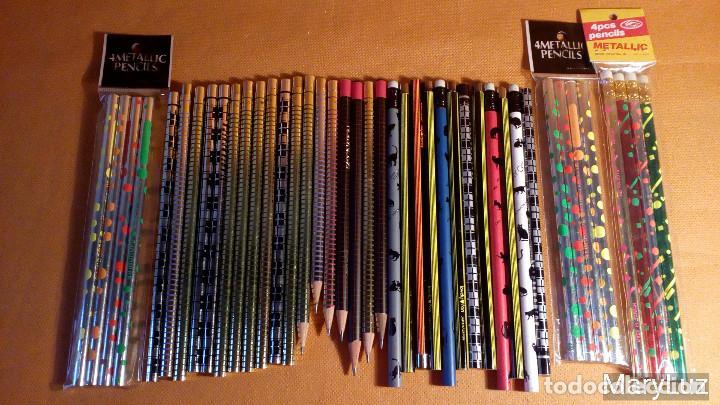 Escribanía: 42 LAPICEROS CON DISEÑOS VARIADOS. FABRICADOS EN JAPÓN, COREA, TAIWAN. Años 80-90. Envío: 2,30 € *. - Foto 3 - 76004603