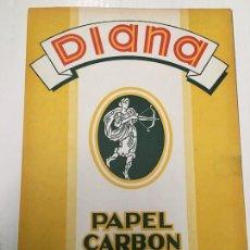 Escribanía: PACK DE PLIEGOS DE PAPEL CARBON DIANA AÑOS 60/70. Lote 222695620