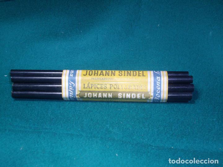 LAPICES JOHANN SINDEL (Plumas Estilográficas, Bolígrafos y Plumillas - Plumillas y Otros Elementos de Escribanía)