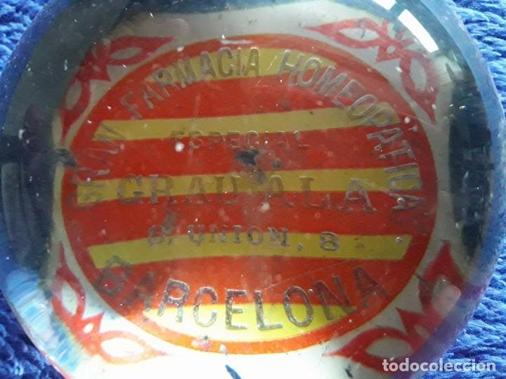 Escribanía: PISAPAPELES GRAN FARMACIA HOMEOPATICA ESPECIAL GRAU ALA / UNIÓN 8 BARCELONA - Foto 2 - 77445525