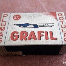 Escribanía: CAJA PLUMAS ROTULAR GRAFIL - 2 M/M. Lote 79061973