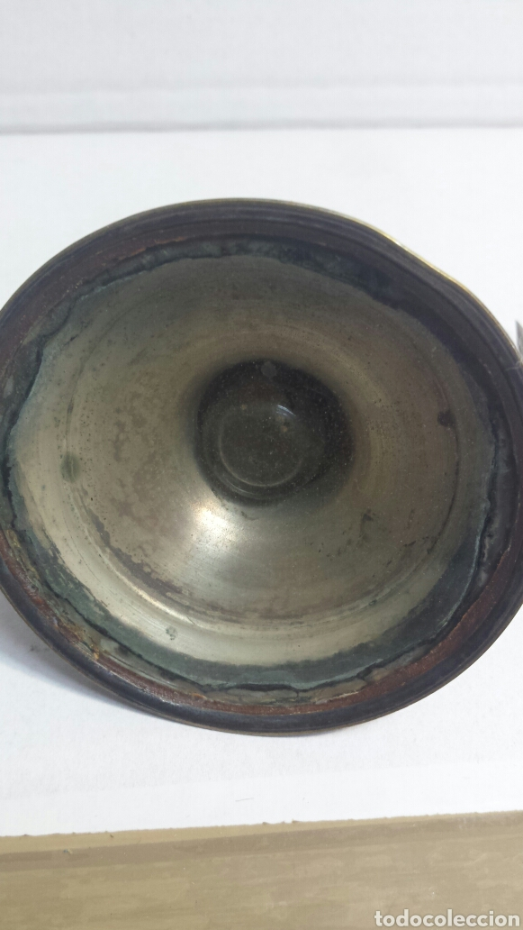 Escribanía: Tintero y pluma antiguos principio siglo XX - Foto 3 - 80148978