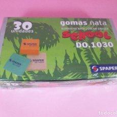 Outils d'Écriture: CAJA GOMAS BORRAR-SPAPER-NATA-30 UNIDADES-PRECINTADA.. Lote 82002764