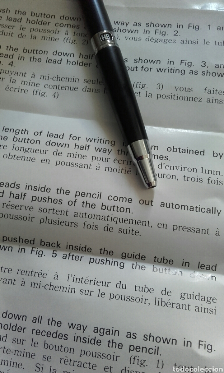 Escribanía: Portaminas Pilot Vanishing Point H1005 Mechanical Pencil Review - Foto 8 - 174431144