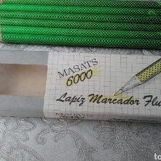 Escribanía: LAPIZ MASATS FLUORESCENTE 600. Lote 128486712