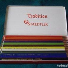 Escribanía: CAJA DE COLORES STAEDTLER - TRADITION. Lote 185682710