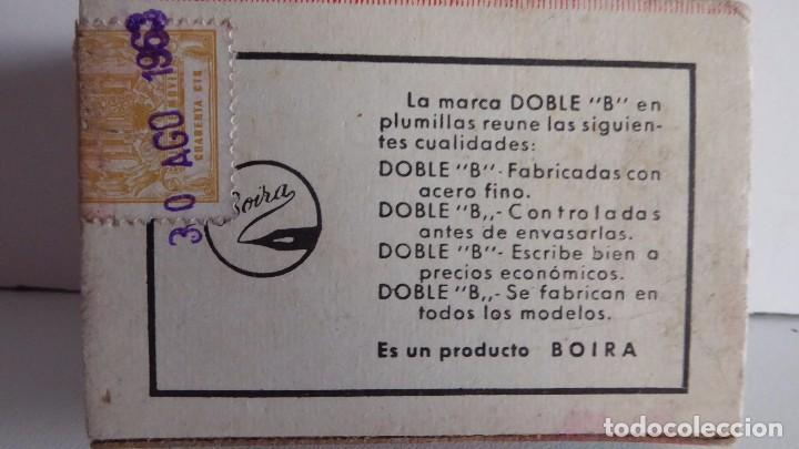 Escribanía: CAJA CON 91 PLUMILLAS DOBLE B EXTRA - Foto 2 - 87376068