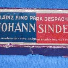 Escribanía: ANTIGUA CAJA LAPIZ JOHANN SINDEL. Lote 117465295