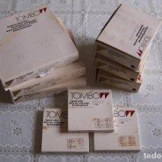 Escribanía: LOTE TOMBOW FORMADO POR 30 ROTULADORES, 30 RECAMBIOS DE TINTA Y 150 RECAMBIOS DE PUNTA.TODO SIN USO. Lote 93322170