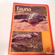 Escribanía: CUADERNILLO FAUNA AFRICANA , CENTAURO. Lote 94565939
