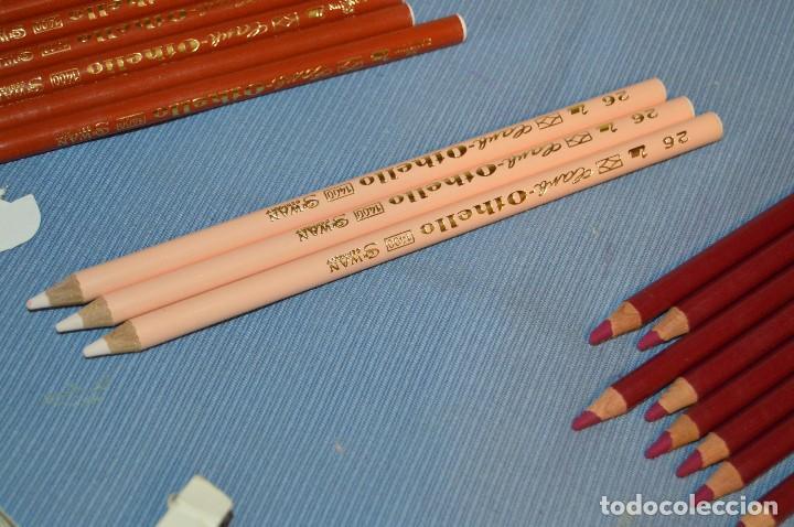 Escribanía: Lote de lápices SCHWAN STABILO OTHELLO 1400 - 5 Colores ¡Mira! - Acepto ofertas - Foto 10 - 95593035