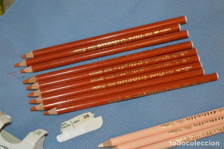Escribanía: Lote de lápices SCHWAN STABILO OTHELLO 1400 - 5 Colores ¡Mira! - Acepto ofertas - Foto 12 - 95593035