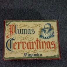 Escribanía: CAJITA DE PLUMILLAS CERVANTINAS. Lote 96038443