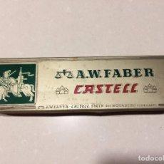 Scrivania: A.W. FABER CASTELL, ANTIGUA CAJA METALICA CON 4 LAPICES SIN USAR Nº: 9101. Lote 97893731